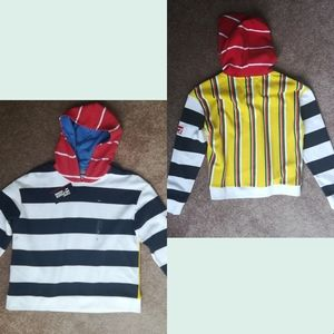 Tommy Hilfiger Colorblock Striped Hoodie